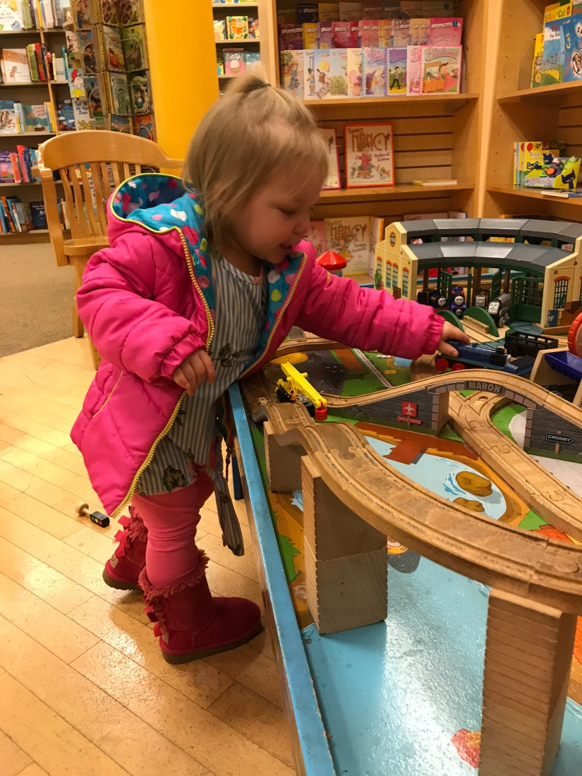 the wooden train table – The Shaver Crew