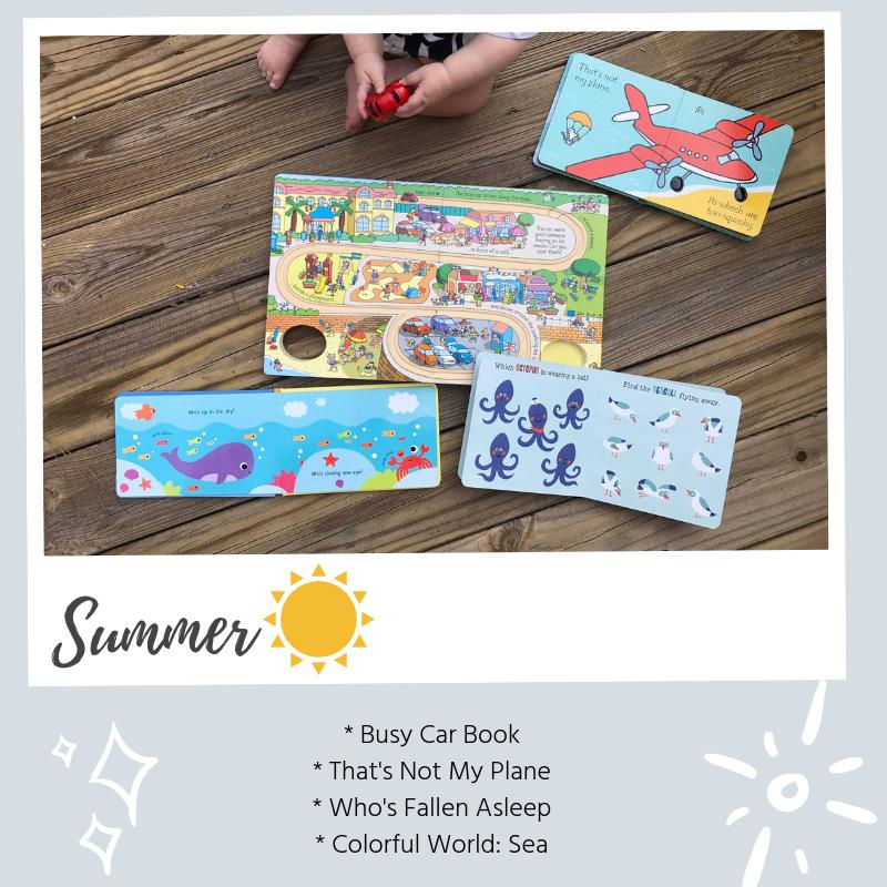 easter book box - summer